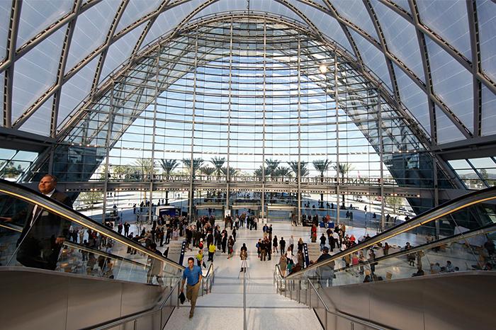 Anaheim Regional Transportation Intermodal Center Clark Construction